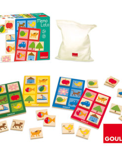 Goula Memo Lotto Game sold by Gifts for little hands