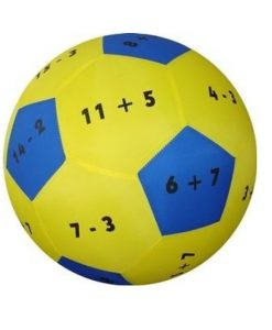 Hands-On Play and Learn Add and Subtract to 20 Fabric Ball sold by gifts for little hands