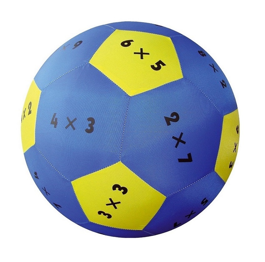 Play and Learn Multiplication Fabric Ball sold by Gifts for little hands