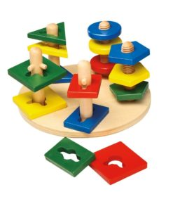Motor Activity Wooden Towers sold by Gifts for little hands