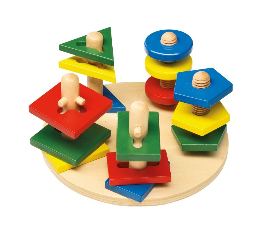 Motor Activity Wooden Towers-1