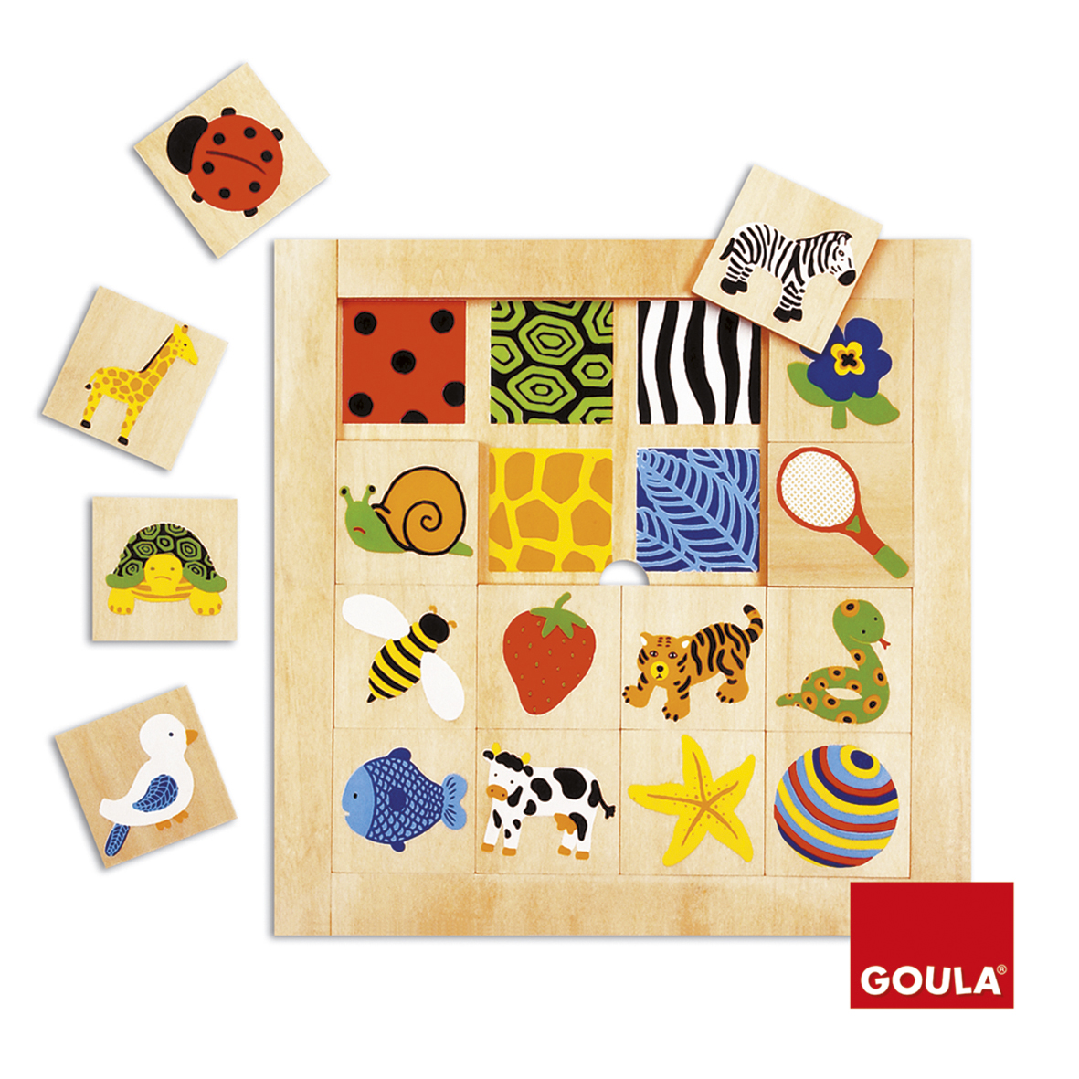 Goula Puzzle Texture Puzzle sold by Gifts for little hands