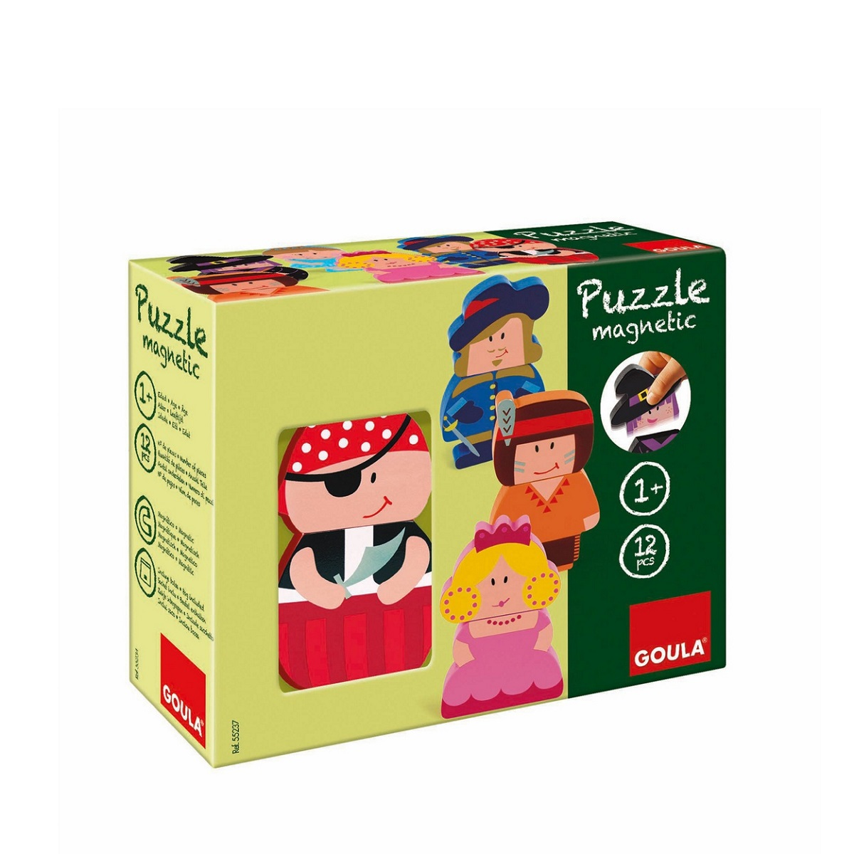 Goula Magnetic Character Puzzle sold by Gifts for little hands