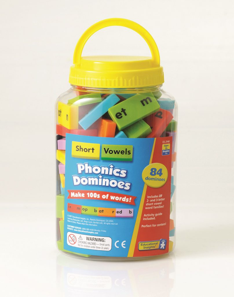Phonics Dominoes - Short Vowels sold by Gifts for little hands