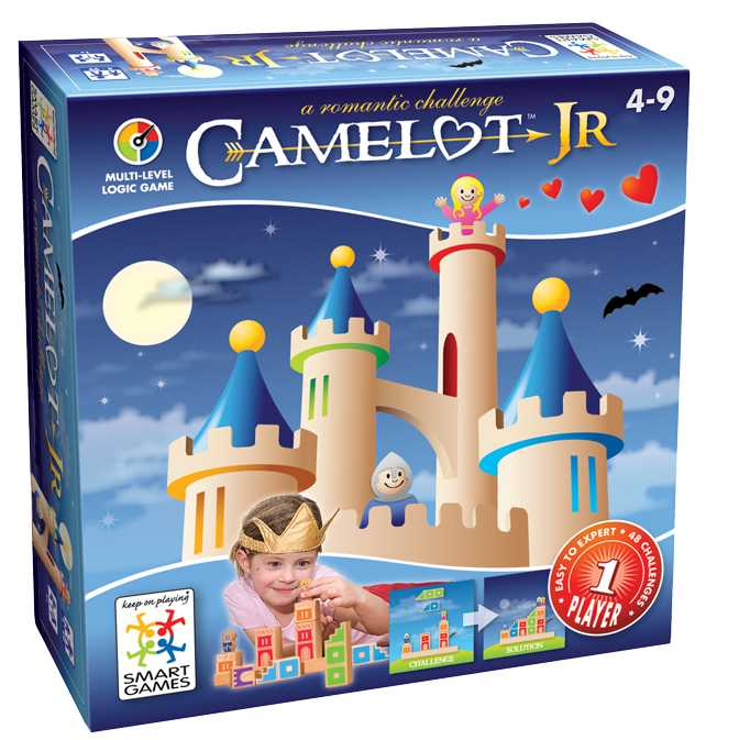 Educational toy called Camelot Jr sold by Gifts for little hands