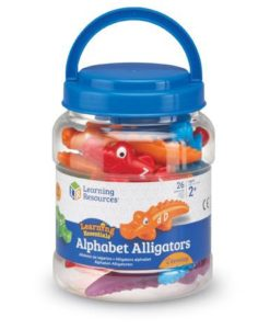 Snap-n-Learn® Alphabet Alligators sold by gifts for little hands