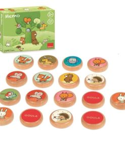 Goula-My-First-Memo-Game-–-Tom-and-his-Forest-Friends sold by Gifts for little hands