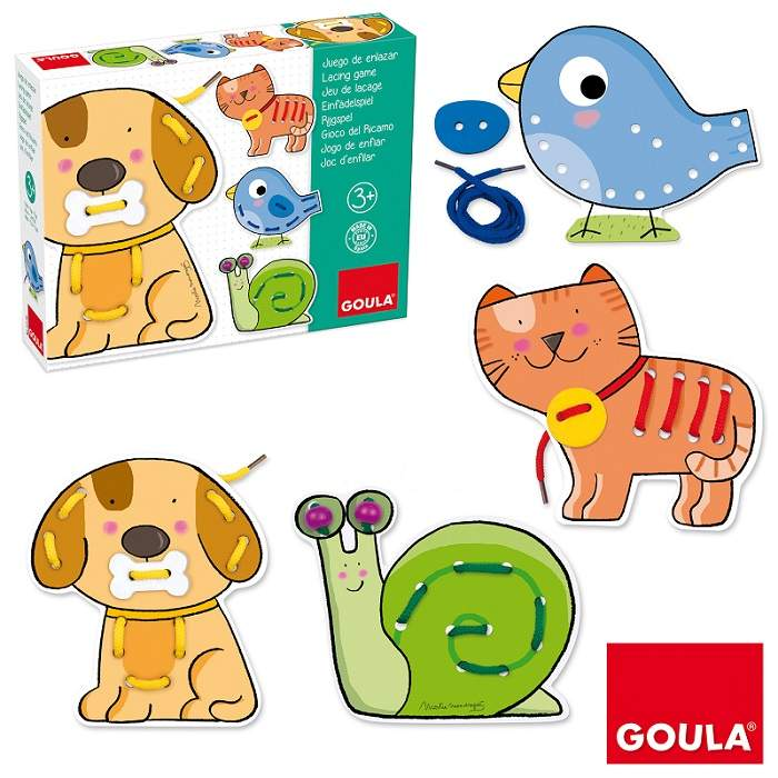 Goula Lacing Game sold by Gifts for little hands
