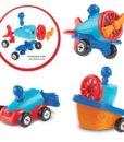 1-2-3 Build It! Car-Plane-Boat