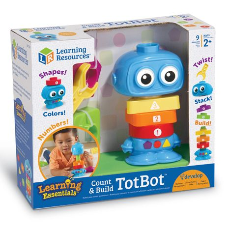 Count & Build TotBot Builders sold by Gifts for Little Hands