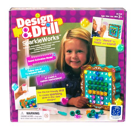 Design & Drill SparkleWorks sold by Gifts for Little Hands
