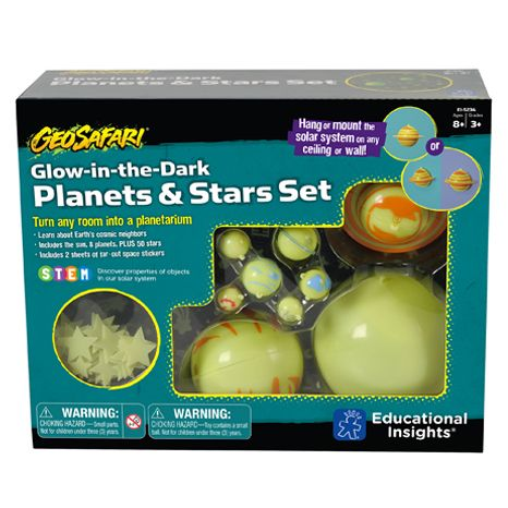 GeoSafari® Glow-in-the-Dark Planets & Stars Set sold by Gifts for Little Hands