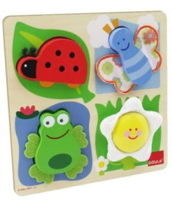 Goula Countryside Fabric Puzzle sold by Gifts for Little Hands
