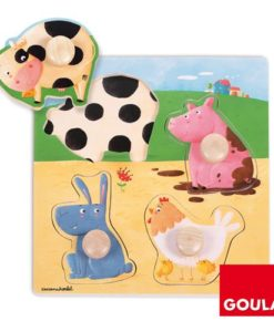 Goula Farm Animals Puzzle sold by Gifts for Little Hands