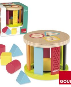 Goula Geometric Shapes Drum Sorter -2