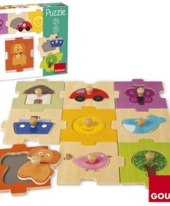 Goula Interchangeable Countryside Puzzle sold by Gifts for Little Hands