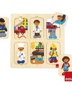Goula Jobs Puzzle sold by Gifts for Little Hands