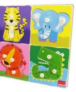 Goula Jungle Animals Puzzle -2