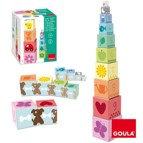 Goula Pile-up Cubes Car Puzzle - 1