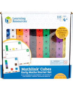 Mathlink® Cubes Activity Set sold by Gifts for Little Hands