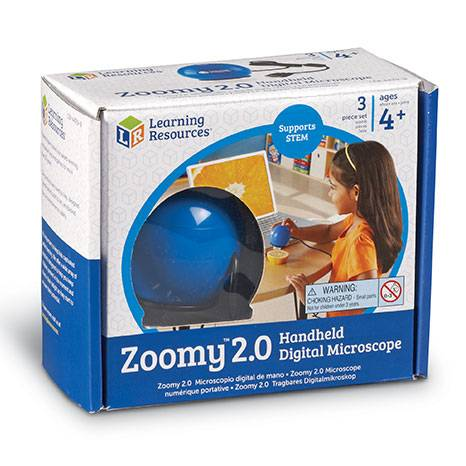 Zoomy 2.0 Handheld Digital Microscope sold by Gifts for Little Hands