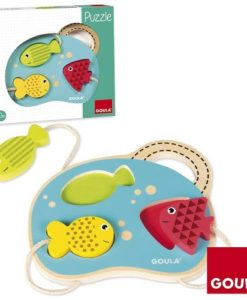 Goula 3 Fish Puzzle sold by Gifts for Little Hands