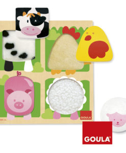 Goula Farm Animal Fabric Puzzle - 4