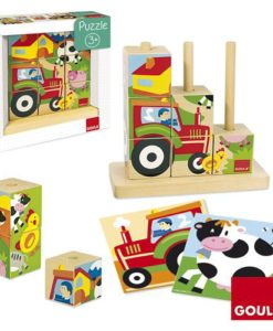 Goula Farm Cubic Puzzle sold by Gifts for Little Hands