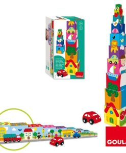 Goula Pile-up Cubes Car Puzzle sold by Gifts for Little Hands