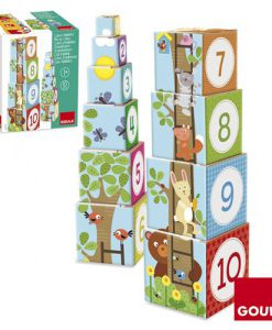 Goula Pile-up Cubes Forest Puzzle sold by Gifts for Little Hands