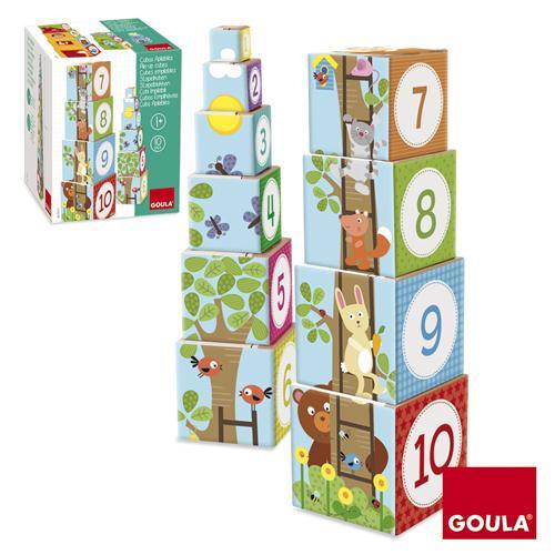 Goula Pile-up Cubes Forest Puzzle - 1