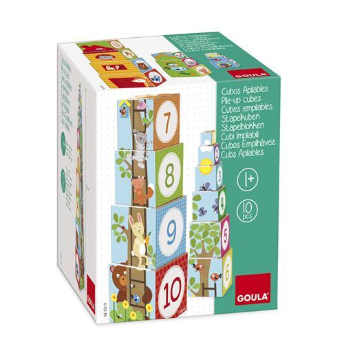 Goula Pile-up Cubes Forest Puzzle