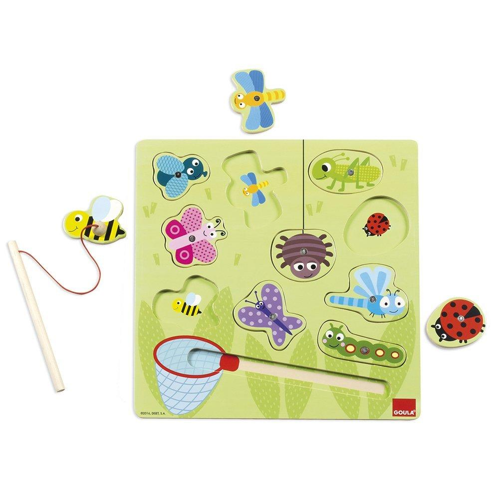 Goula Magnetic Wooden Bugs Puzzle sold by Gifts for Little Hands