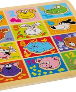 Animal and Numbers Puzzle sold by Gifts for Little Hands