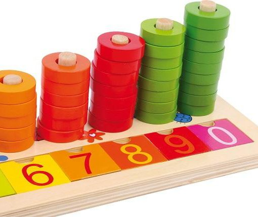 Calculation Table Wooden Rings sold by Gifts for Little Hands