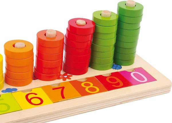 Calculation Table Wooden Rings - 1