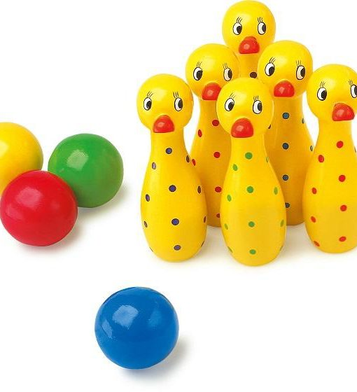 Duck Skittles Set sold by Gifts for Little Hands