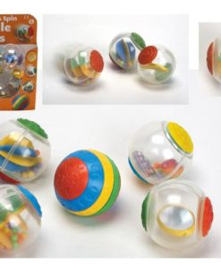 Large Sensory Roll and Spin Bubble Balls sold by Gifts for Little Hands