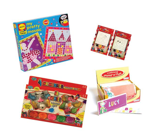 Girls Arts and Crafts Bundle sold by Gifts for Little Hands