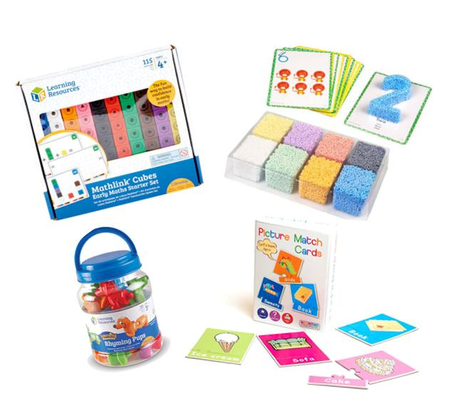 Super Maths and Literacy Set sold by Gifts for Little Hands