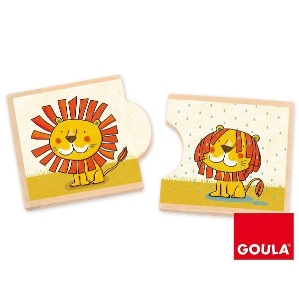 Goula Opposites Leo King of the Jungle sold by Gifts for Little Hands