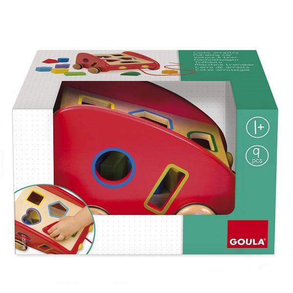 Goula Sorting Pull-along Car sold by Gifts for Little Hands