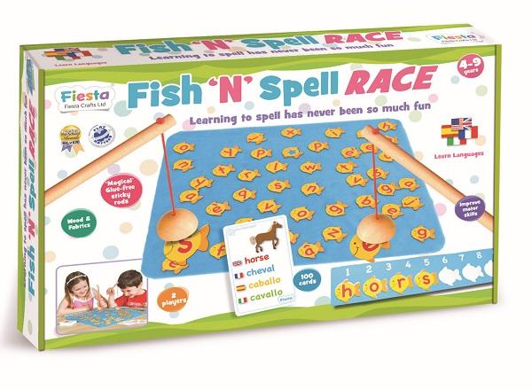 Fish N Spell Race sold by Gifts for Little Hands