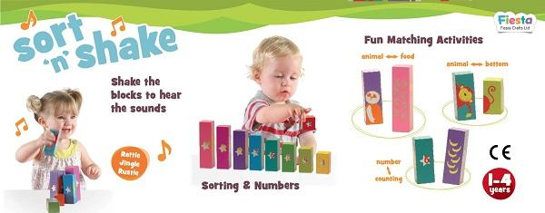 Sort N Shake sold by Gifts for Little Hands
