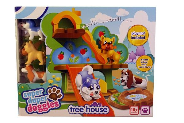 Super Duper Doggies Tree House sold by Gifts for Little Hands
