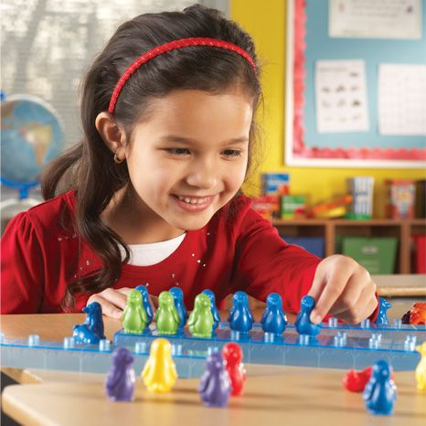 Penguins on Ice Maths Activity Set sold by Gifts for Little Hands