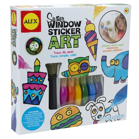 Super Window Sticker Art sold by Gifts for Little Hands