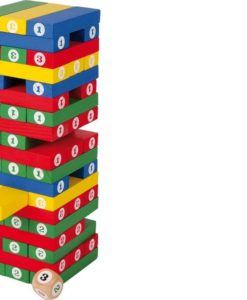 Tumbling Figure Tower sold by Gifts for Little Hands