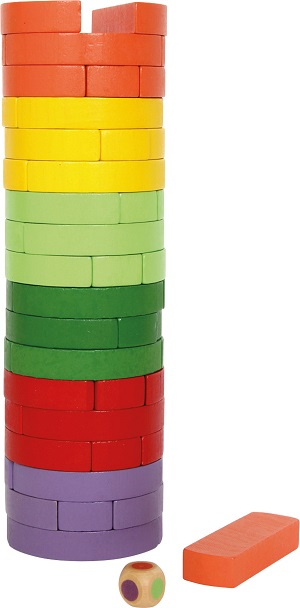 Wobbling Round and Coloured Tower sold by Gifts for Little Hands