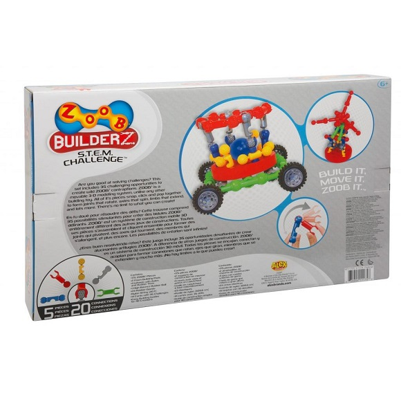 ZOOB Builderz STEM Challenge sold by Gifts for Little Hands